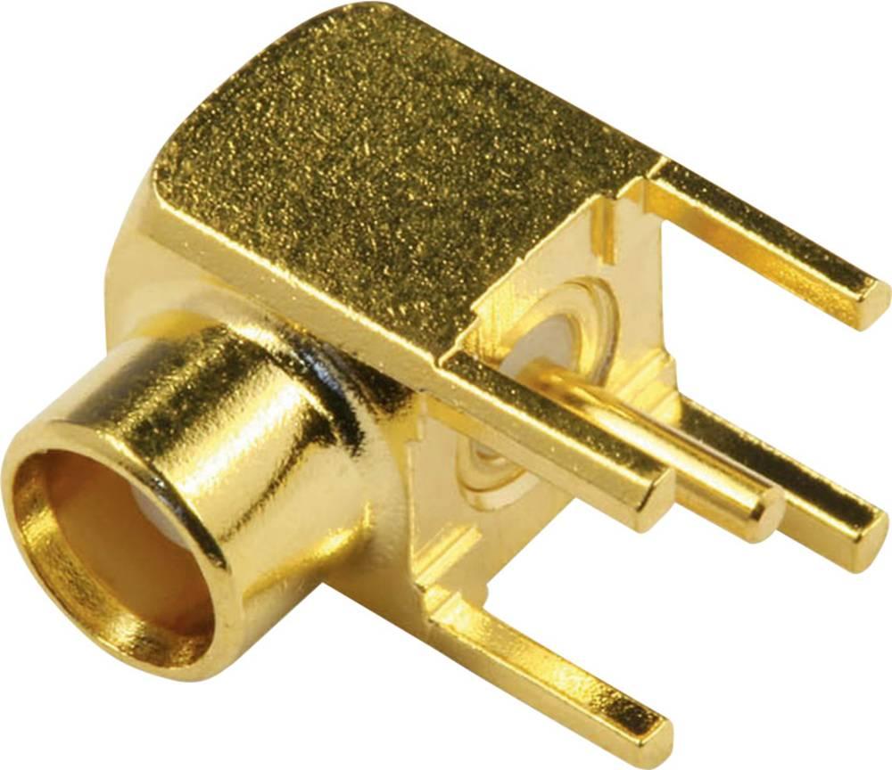 MCX-stikforbindelse econ connect MCX6F 50 Ohm Tilslutning, vinklet 1 stk