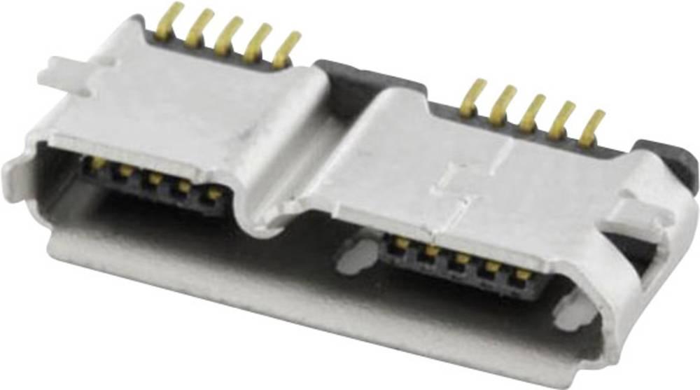 econ connect MICUB10BBS USB 3.0 Sort 1 stk