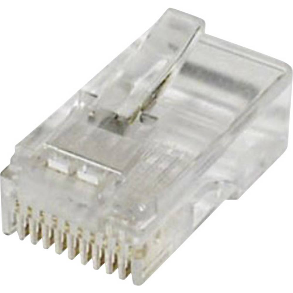 Modularni vtič, raven, polov:10 MPL10/10 prozoren econ connect MPL10/10 1 kos
