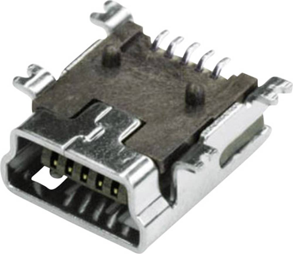 econ connect MUB2B5SMD USB 2.0 Sort 1 stk