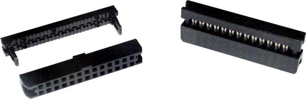 Stiftliste Rastermål: 2 mm Samlet antal poler: 8 econ connect 1 stk