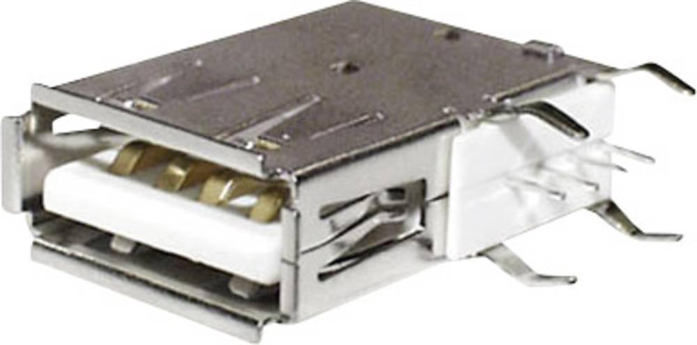 Vgradna vtičnica USB-A Print vtičnica, vgradna, horizontalna USBBUVA econ connect vsebuje: 1 kos