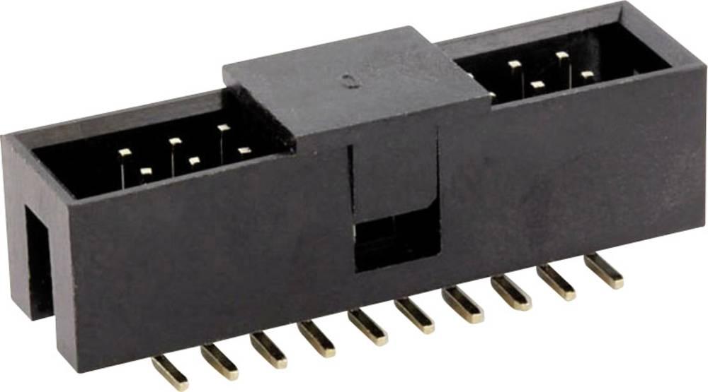 Stiftliste (standard) WT Samlet antal poler 16 econ connect WT16GSS Rastermål: 2.54 mm 1 stk