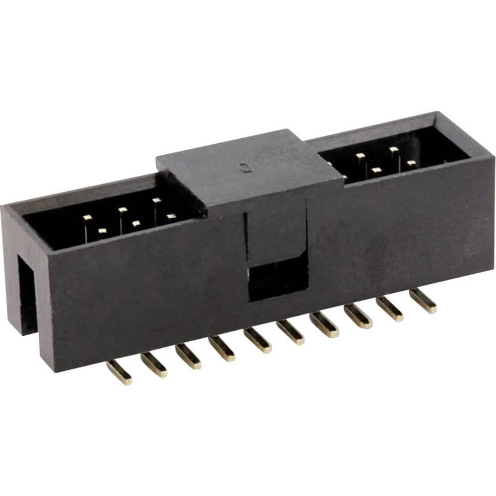 Pinski konektor (standarden) econ connect WT26GSS, mere: 2.54 mm 1 kos