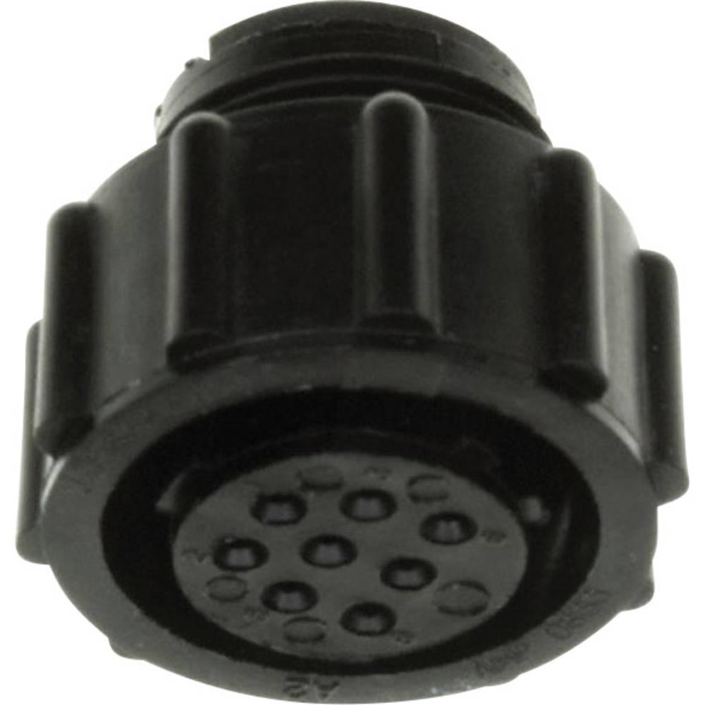 CPC ohišje vtičnice , prosto-viseče, poli: 57 206438-2 TE Connectivity 1 kos