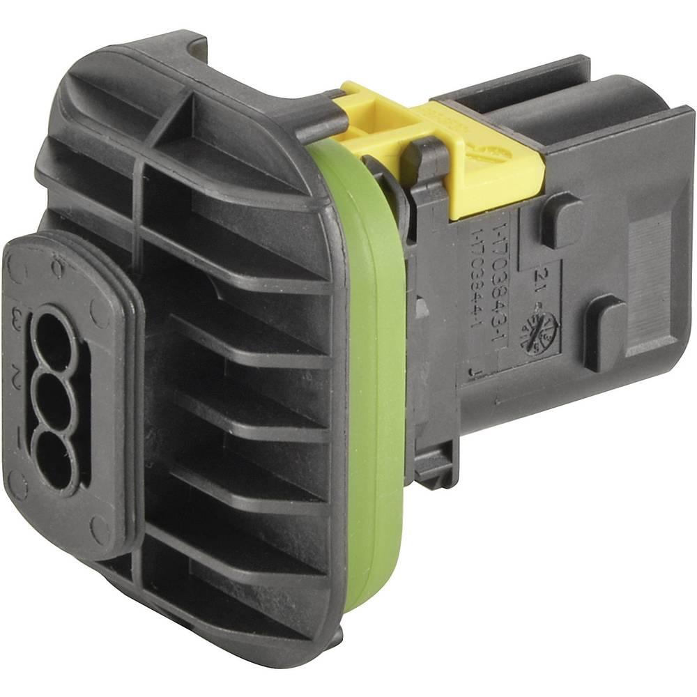 Ohišje za konektorje- platina TE Connectivity 3-1703843-1 1 kos