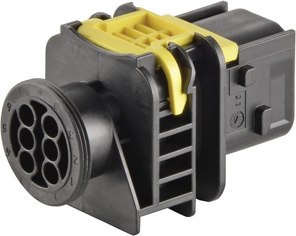 Tilslutningskabinet-printplade HDSCS, MCP Samlet antal poler 2 TE Connectivity 1-1564544-1 1 stk