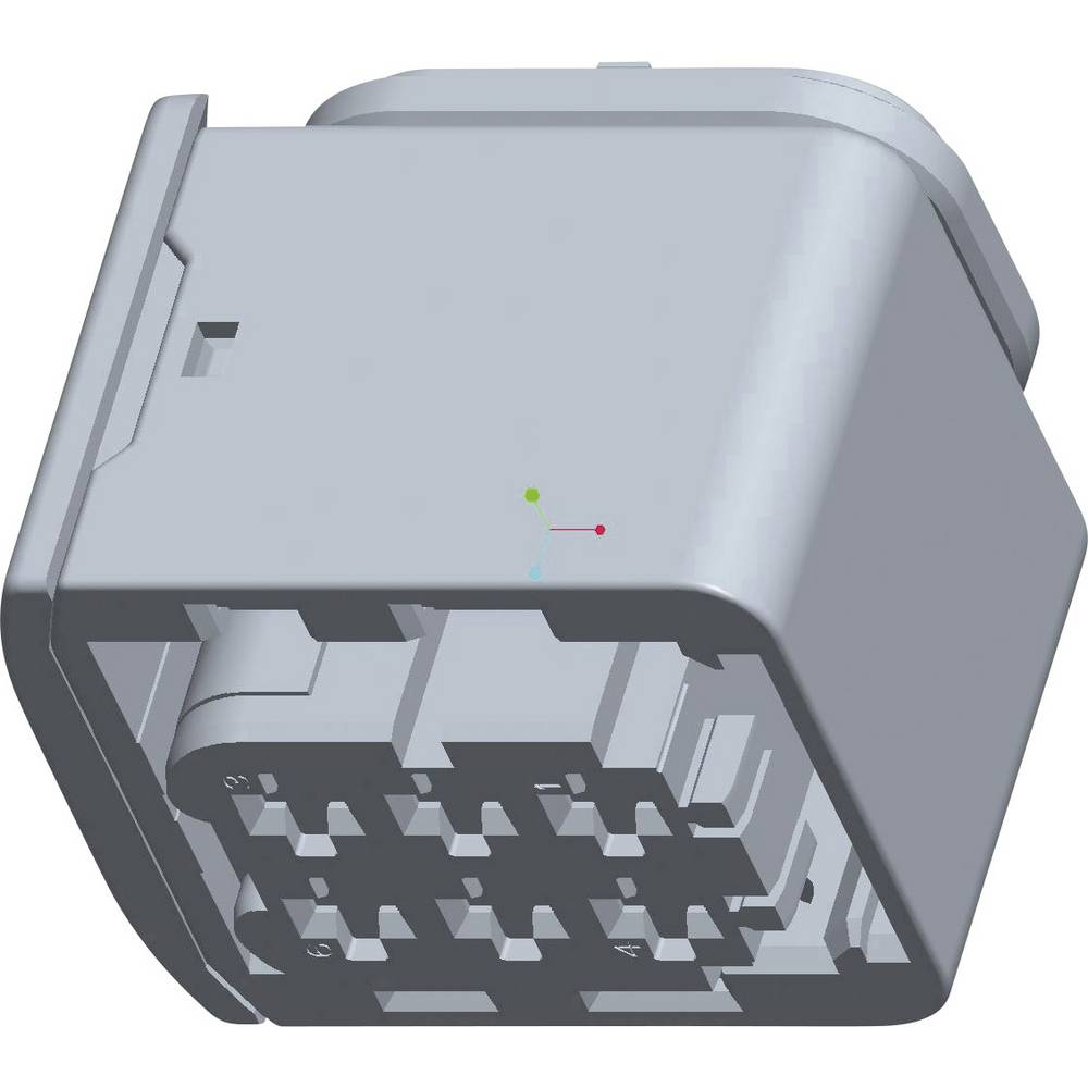 Tilslutningskabinet-kabel HDSCS, MCP Samlet antal poler 6 TE Connectivity 1-1418437-1 1 stk