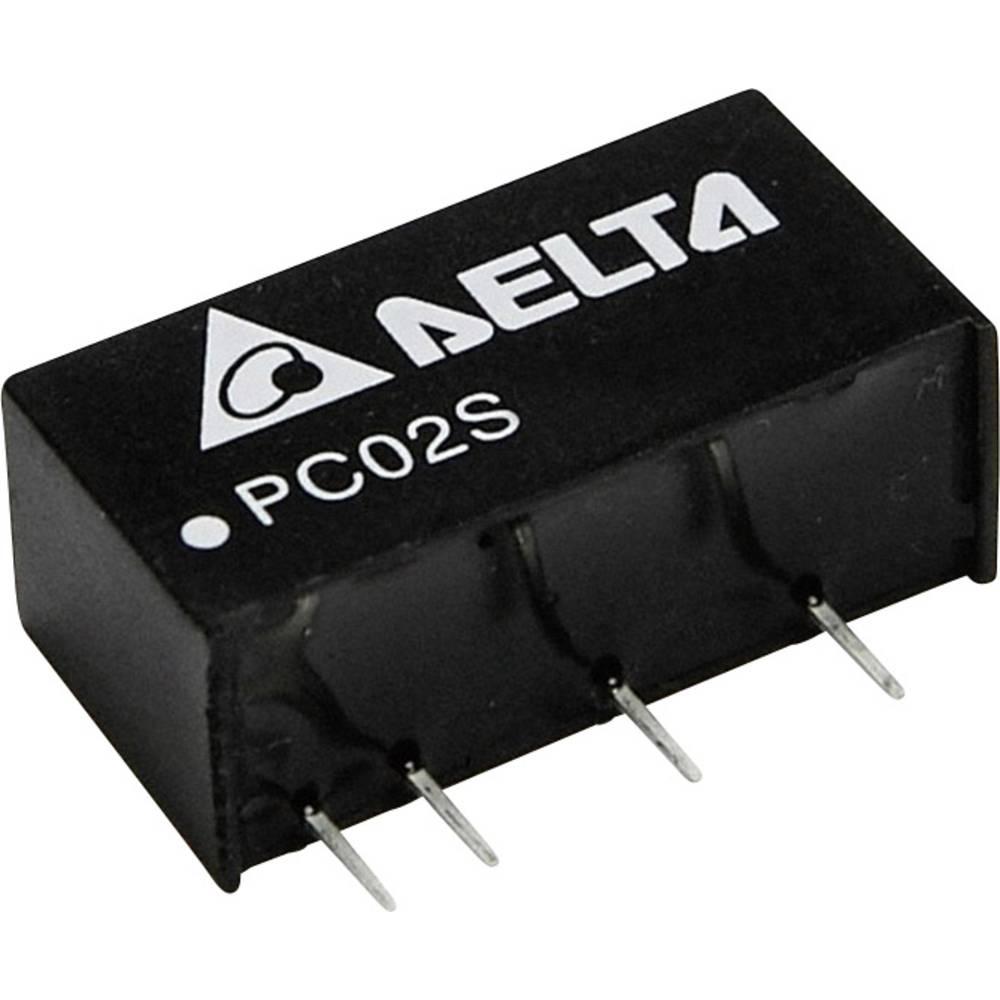 DC/DC pretvornik za tiskano vezje Delta Electronics PC02S0505A 5 V/DC 400 mA 2 W št. izhodov: 1 x