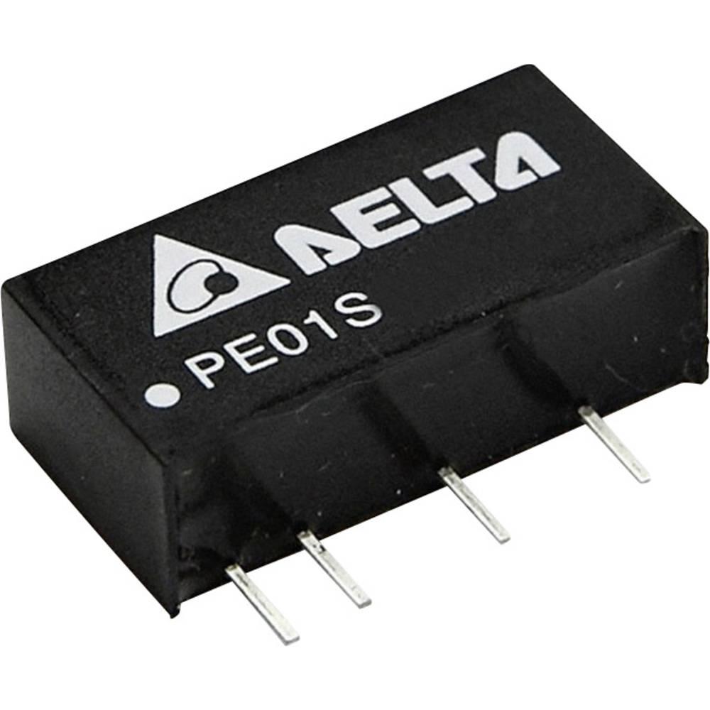 DC/DC pretvornik za tiskano vezje Delta Electronics PE01S0505A 5 V/DC 200 mA 1 W št. izhodov: 1 x