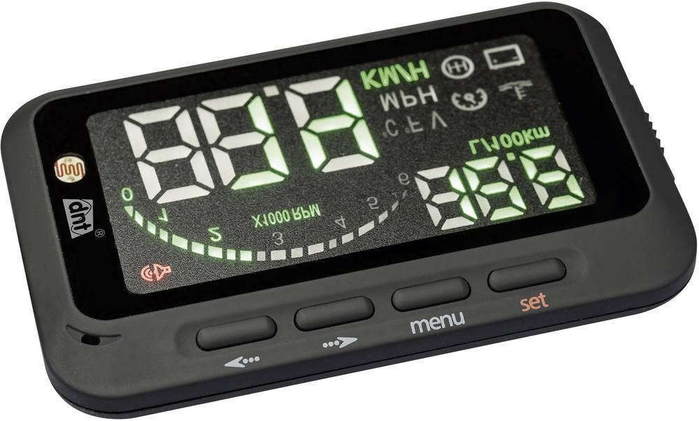 Synsfelt display - head-up display dnt Headup-Doo 100 53507 57 mm x 91 mm x 15 mm