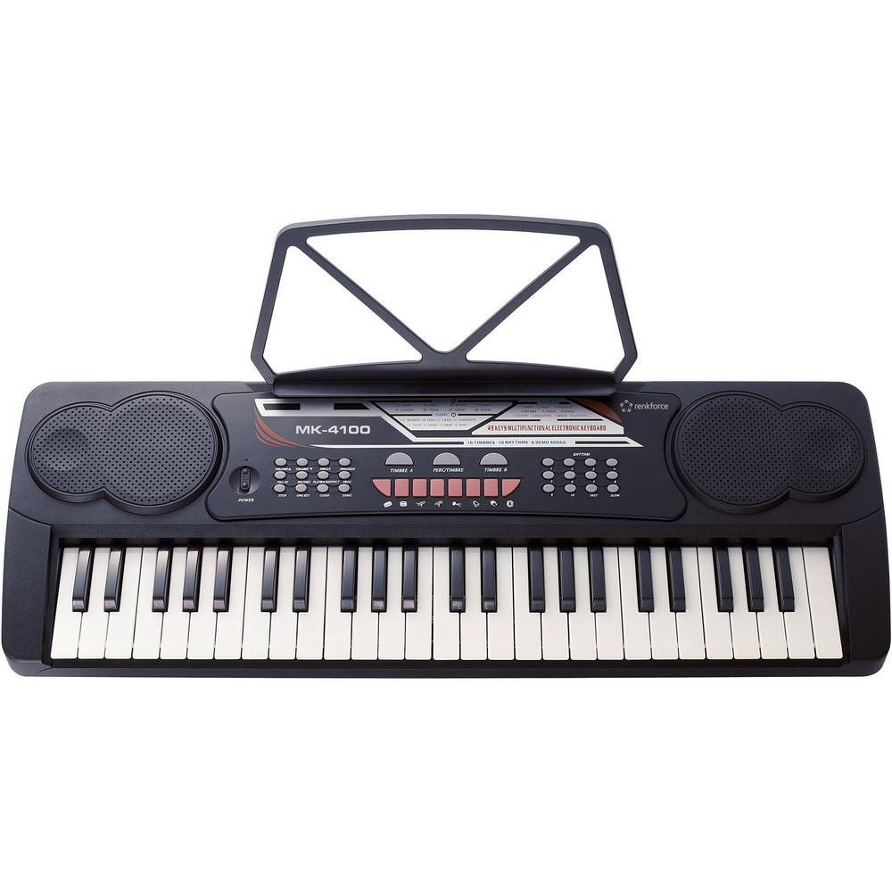 Keyboard Renkforce MK-4100 Svart