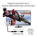 Club 3D DisplayPort 1.2 cable 3 m