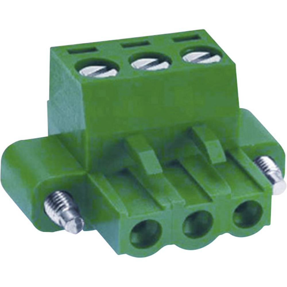 Tilslutningskabinet-kabel MC Samlet antal poler 9 DECA MC101-50809 Rastermål: 5.08 mm 1 stk