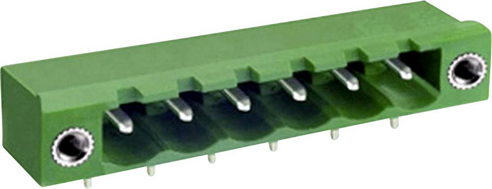 Osnovno pinsko ohišje, horizontalno z vijačno pritrditvijo mere: 5.08 mm število polov: 5 zelene barve DECA ME050-50805 vsebuje: