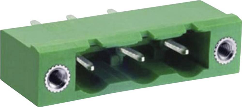 Pinsko ohišje za tiskana vezja DECA ME060-76207 mere: 7.62 mm 1 kos