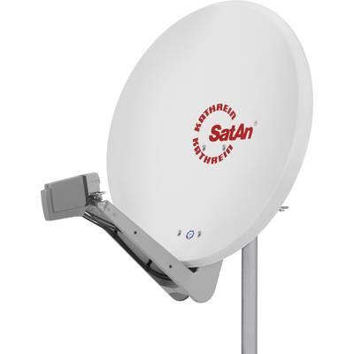 Kathrein CAS 90ws SAT antenna 90 cm Reflective material: Aluminium White