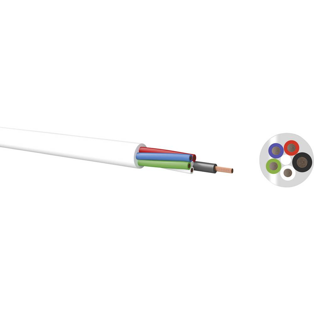 Priključni kabel 500 V PVC () 5.1 mm Kabeltronik