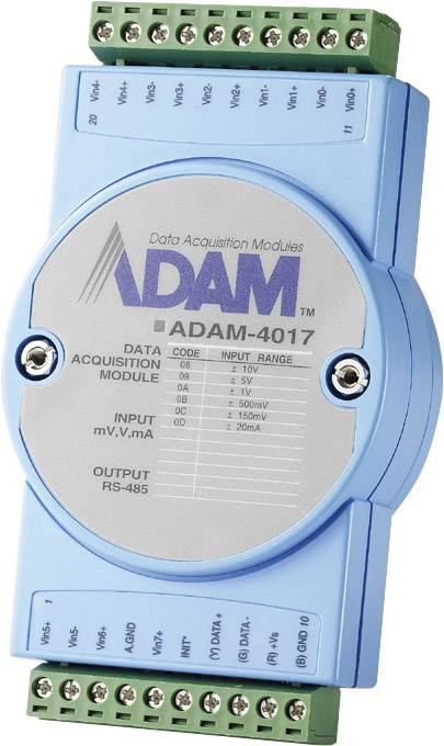 Advantech Remote Data Acquisition Module ADAM-4017