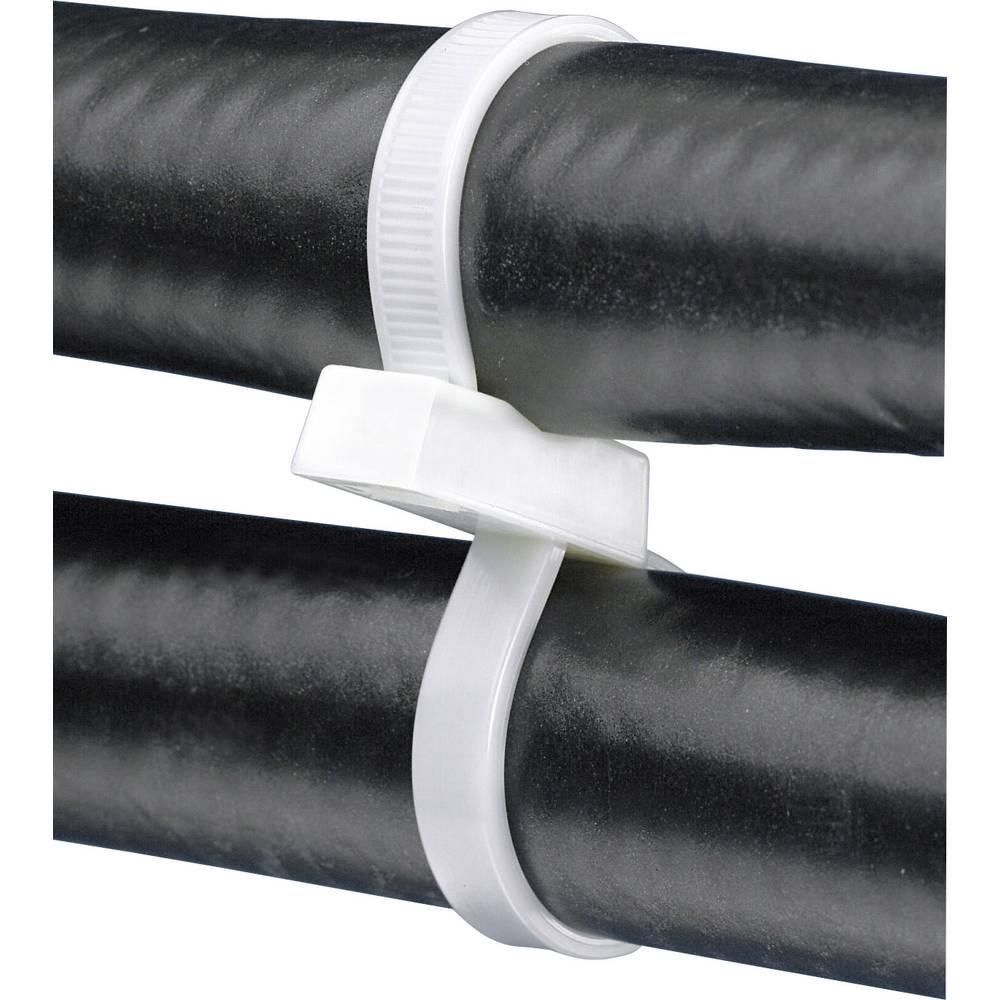 Kabelske vezice 193 mm naravne barve z dvojno glavo,Panduit PLB2S-C 1 kos