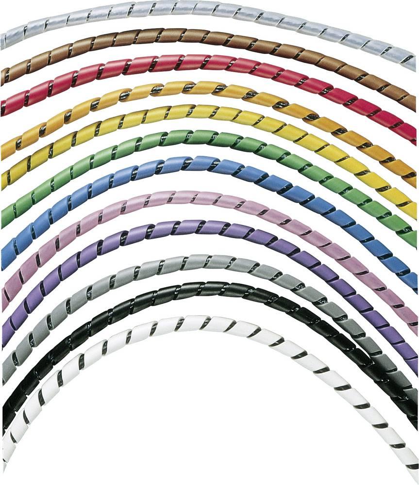 Spiralna cev 4.8 - 50.4 mm T25F-C10 Panduit vsebuje: 30.5 m