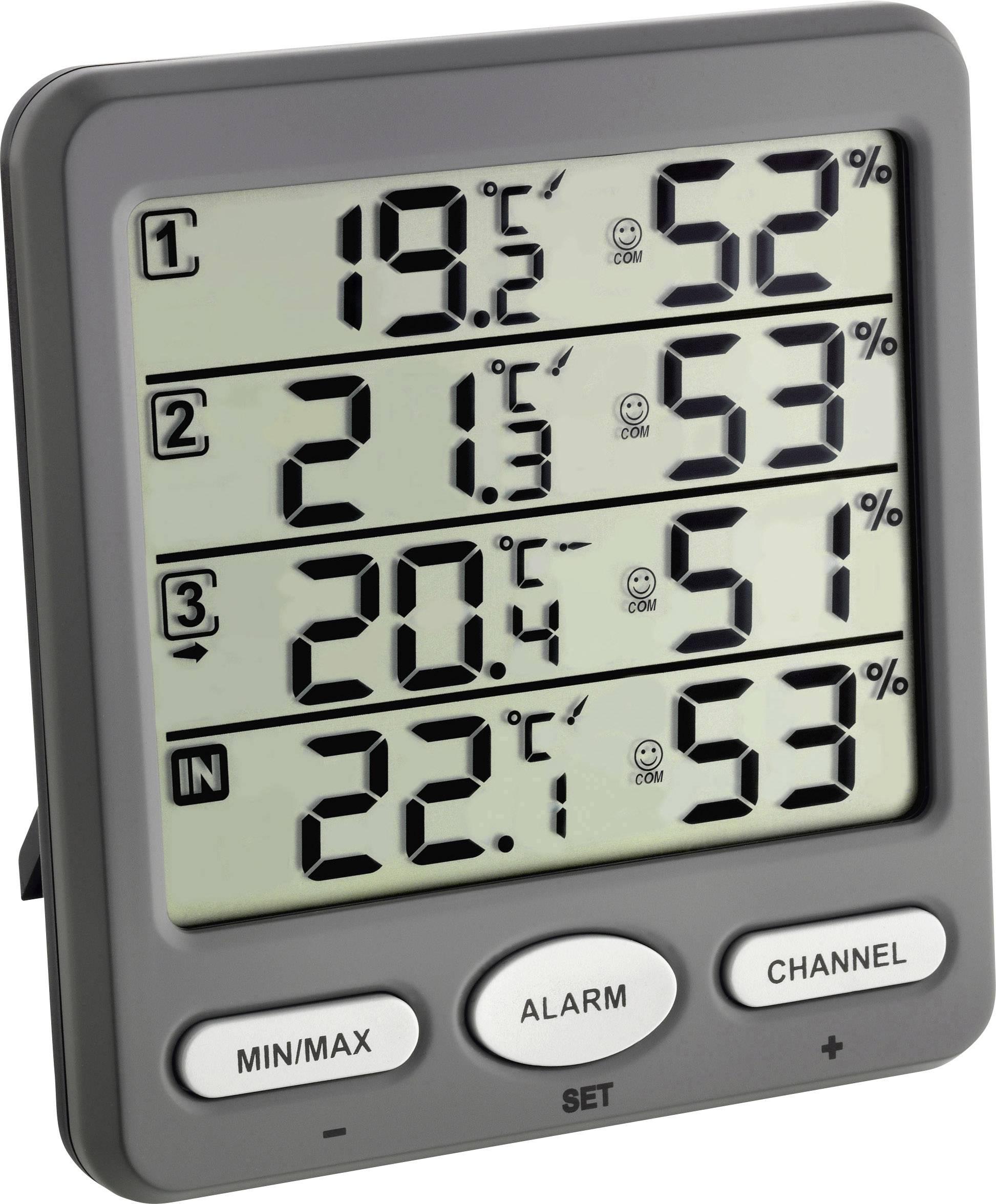 Eurochron Funk-Thermo-//Hygrometer