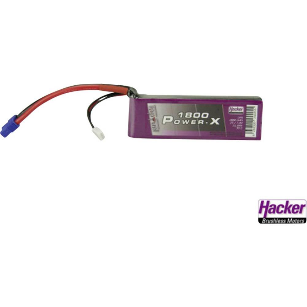 Baterijski paket za modele Hacker (LiPo) 7.4 V 1800 mAh 35 C, EC3 utični sustav