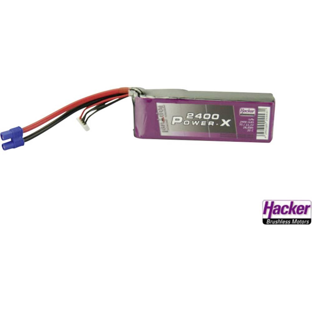 Baterijski paket za modele Hacker (LiPo) 11.1 V 2400 mAh 35 C, EC3 utični sustav