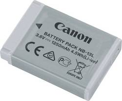 Image of Camera battery Canon replaces original battery NB-13L 3.6 V 1250