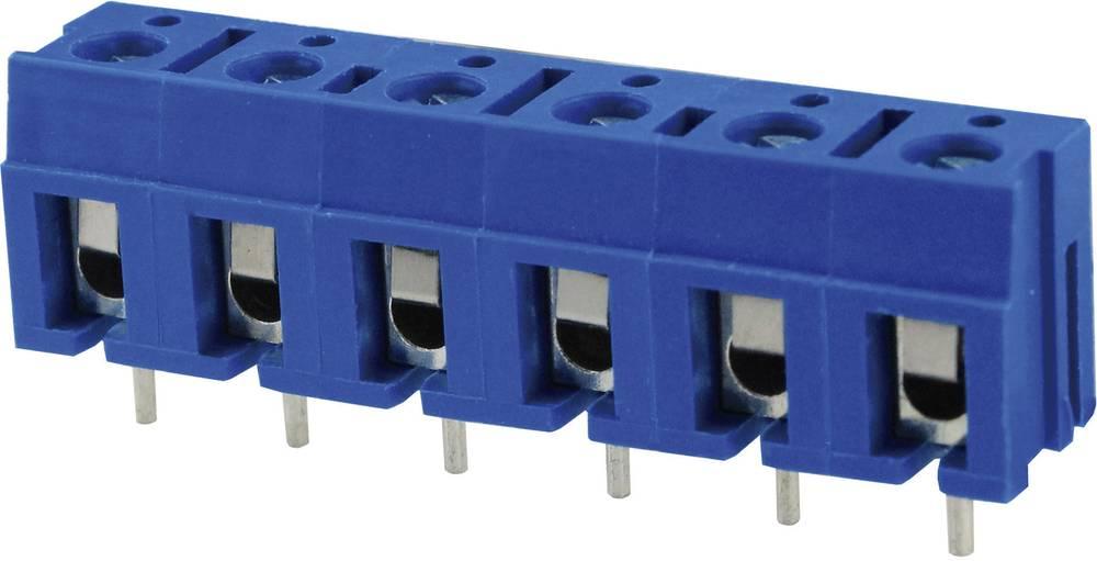 Skrueklemmeblok Degson DG300-7.5-03P-12-00AH 2 mm² Poltal 3 Blå 1 stk