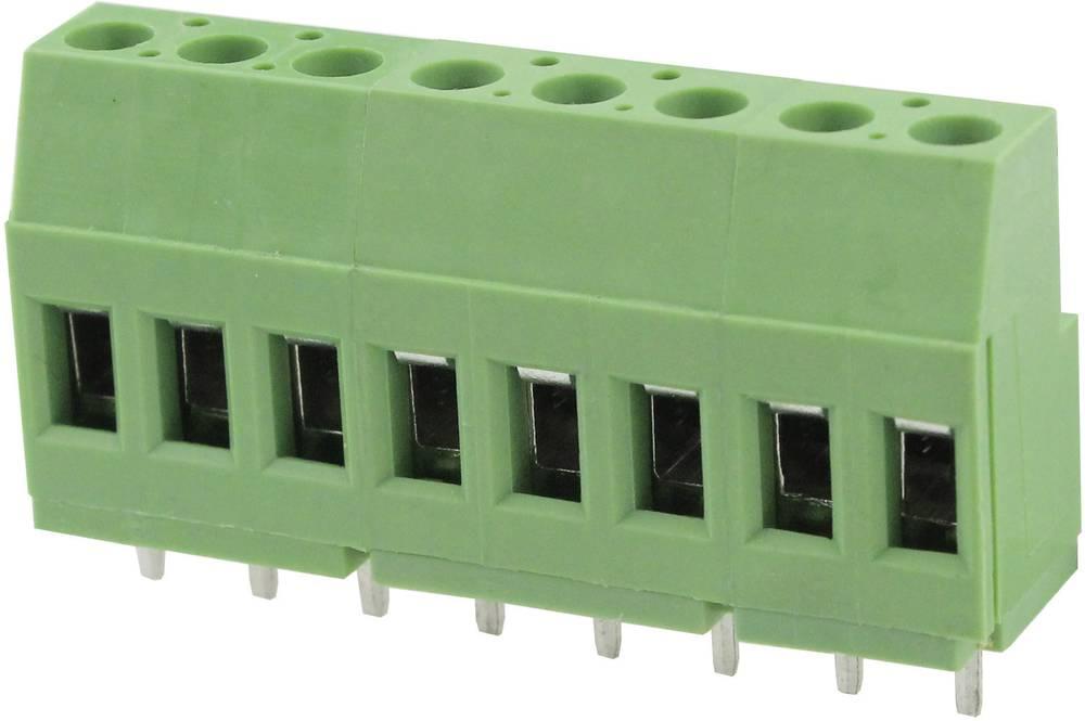 Skrueklemmeblok Degson DG129-5.0-02P-14-00AH 3.31 mm² Poltal 2 Grøn 1 stk