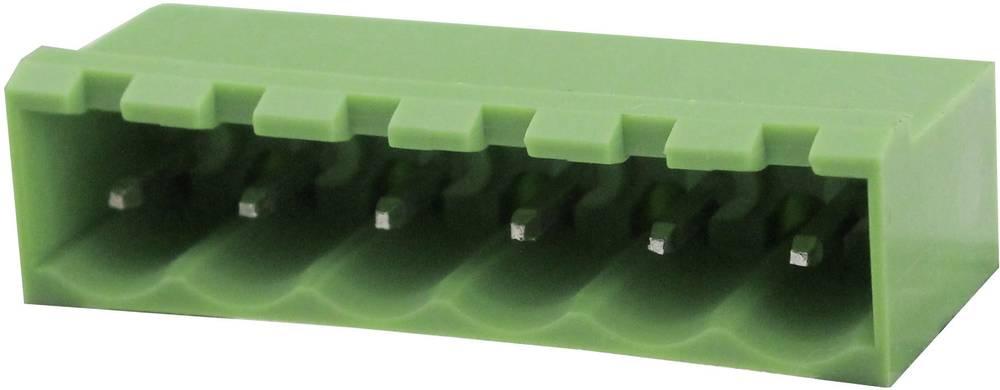 Tilslutningskabinet-printplade Samlet antal poler 12 Degson 2EDGVC-5.08-12P-14-00AH Rastermål: 5.08 mm 1 stk
