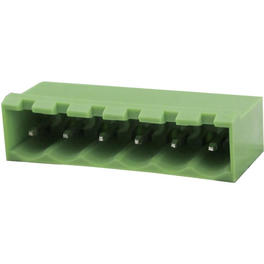 Tilslutningskabinet-printplade Samlet antal poler 2 Degson 2EDGVC-5.08-02P-14-00AH Rastermål: 5.08 mm 1 stk