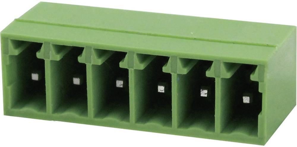 Tilslutningskabinet-printplade Samlet antal poler 8 Degson 15EDGRC-3.81-08P-14-00AH Rastermål: 3.81 mm 1 stk