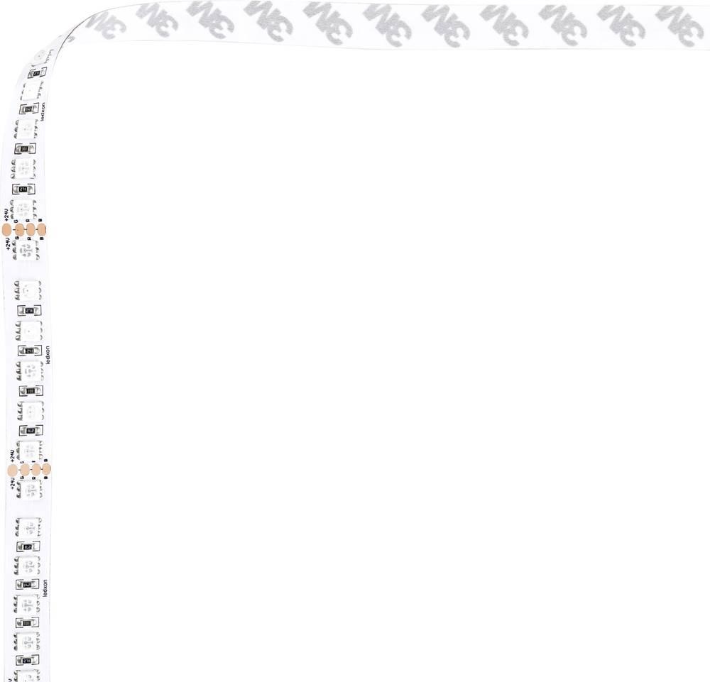 LED trak RGB prilagodljiv, samolepilni 24 V/DC 62.5 mm RGB 623 nm, 525 nm, 470 nm ledxon 9009280