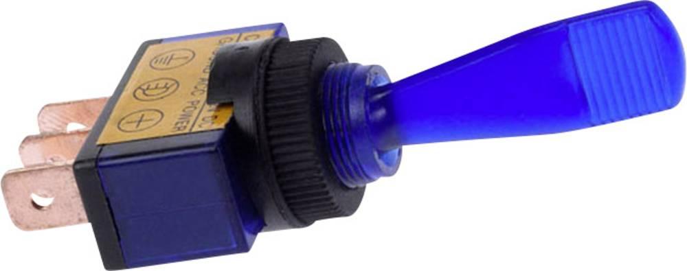 Vippeafbryder til bil HP Autozubehör 12 V 16 A 1 x Off/On Klikkende 1 stk