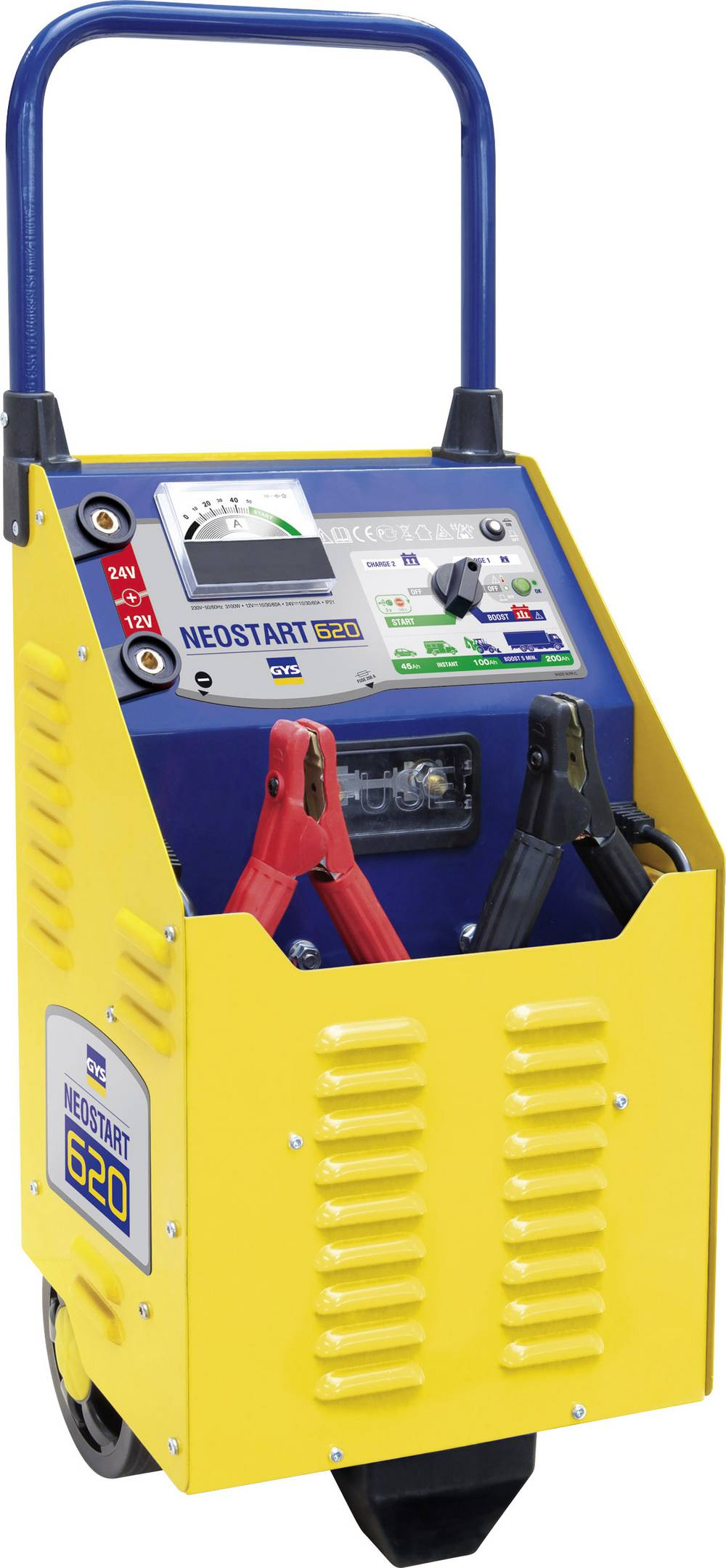 Hurtigstartsystem GYS NEOSTART 620 025288 12 V, 24 V 90 A 90 A