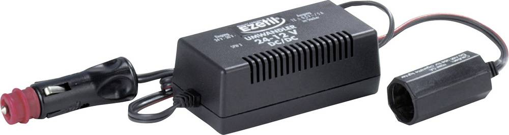 Pretvornik napetosti EZetil DC/DC 24 zu 12V Ezetil črn (L x B x H) 18 x 4.5 x 22.5 cm