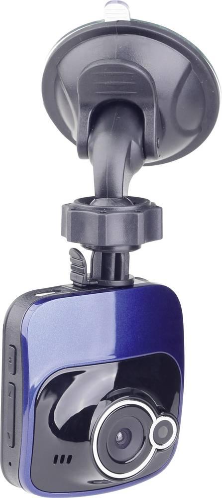 Dashcam Gembird DCAM-007 Betragtningsvinkel horisontal=120 ° 12 V Display, Mikrofon, Batteri