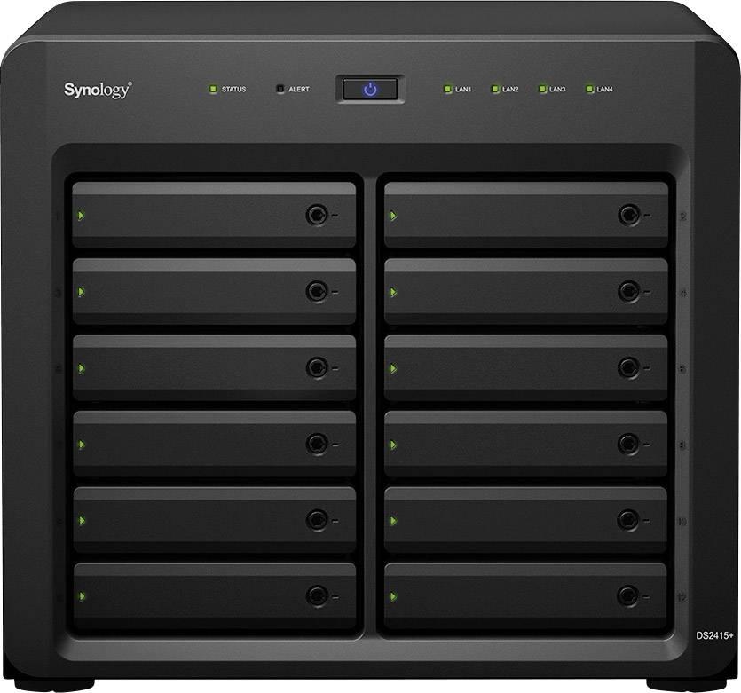 Synology DiskStation DS2415+ NAS server casing 12 Bay   Conrad com