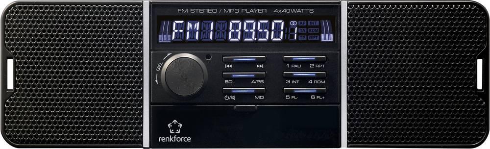 Bilradio Renkforce RUSD-SP 12V/24 inkl. fjernbetjening, Retro design