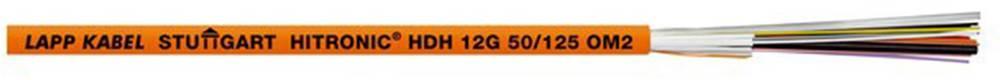 Optični kabel Hitronic HDH 62,5/125µ Multimode OM1 Duplex, oranžna LappKabel 26010102 1000 m
