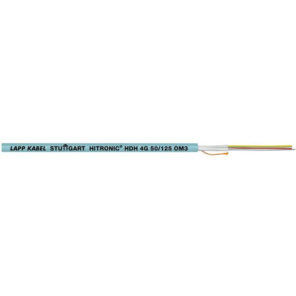 Optički kabel Hitronic HDH 50/125µ Multimode OM3 Duplex Aqua plave boje LappKabel 26010302 500 m
