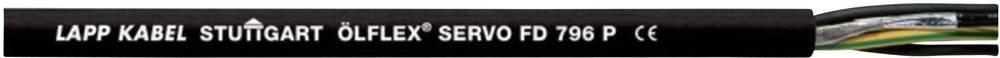 Kabel za upravljanje servo motora ÖLFLEX® SERVO FD 796 P 4 G 4 mm + 2 x 1 mm crne boje LappKabel 0025329 50 m