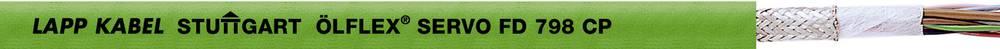 Energijski kabel ÖLFLEX® SERVO FD 798 CP 6 x 0.14 mm + 4 x 0.14 mm zelene barve LappKabel 0036912 100 m