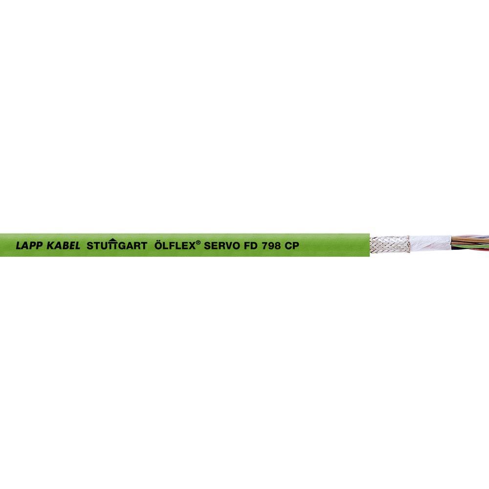 Energijski kabel ÖLFLEX® SERVO FD 798 CP 8 x 0.18 mm zelene barve LappKabel 0036924 500 m