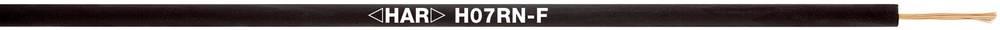 Priključni vodič H07RN-F 1 x 6 mm crne boje LappKabel 4533003 100 m