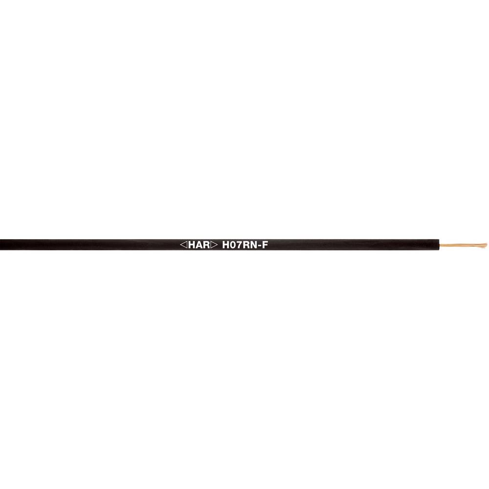 Priključni vodič H07RN-F 1 x 400 mm crne boje LappKabel 4533016 100 m