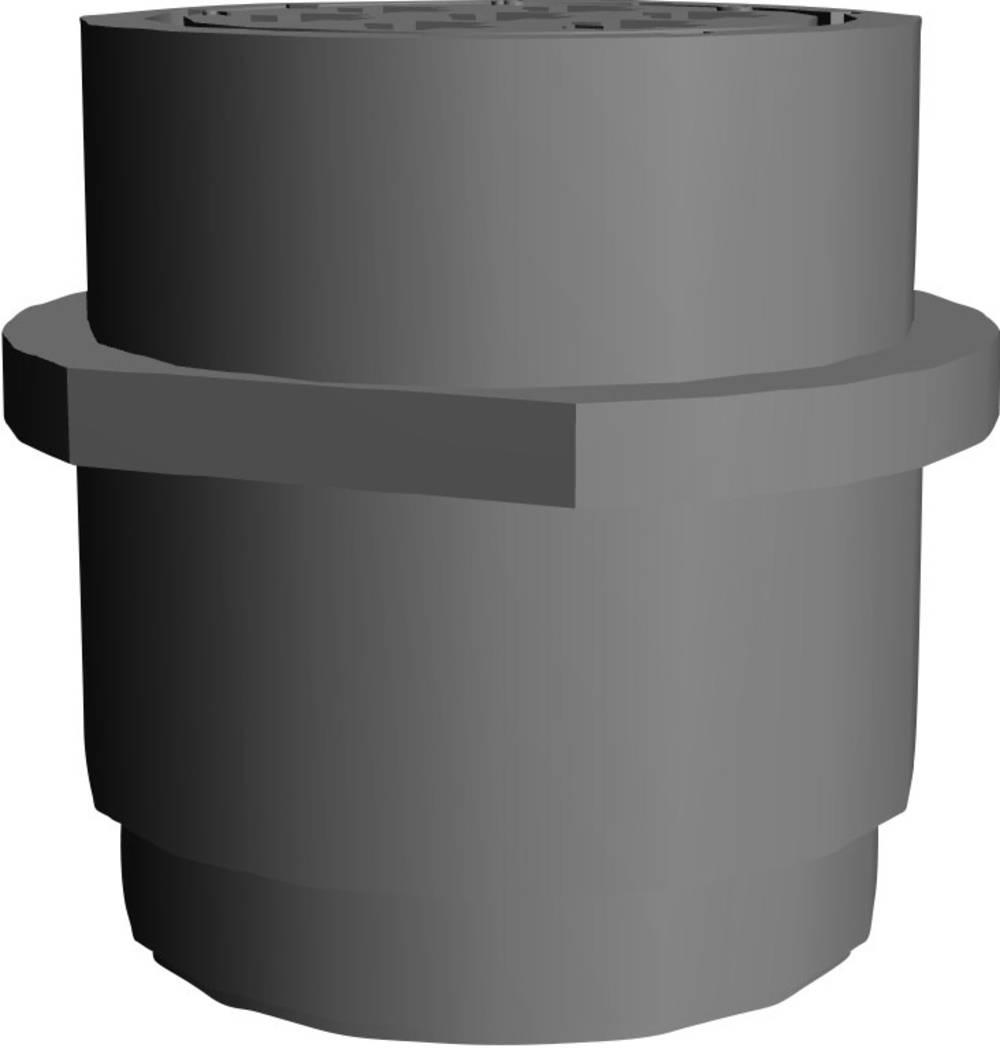 CPC ohišje vtičnice brez prirobnice poli: 7 206227-2 TE Connectivity 1 kos