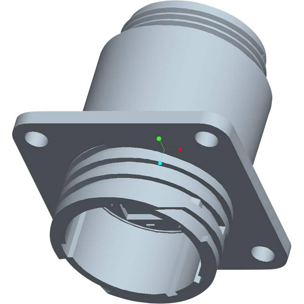CPC ohišje vtičnice s prirobnico, poli: 3 206036-2 TE Connectivity 1 kos
